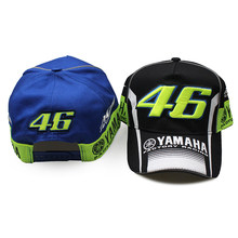 07b6d7fbdd6 2017 New Rossi VR46 YAMAHA Baseball Cap MOTO GP 46 Motorcycle 3D Racing  Embroidered Cap for Men Women Snapback hat New style