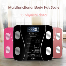 Bathroom Body Weight Scale Scales Glass Smart Household Electronic Digital Floor Balance Bariatric LCD Display PK xiaomi