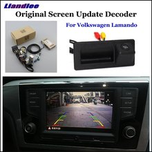 Liandlee For Volkswagen VW Lamando Original Display Update System Car Reverse Parking Camera Digital Decoder Rear camera printio космический полёт