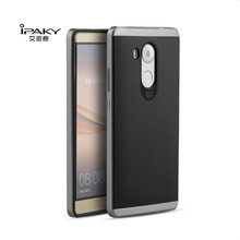 For Huawei Mate 8 Case iPaky Original Brand PC Frame+Silicone 2 in 1 Hybrid Back Protective Cover Phone Case for Huawei Mate 8
