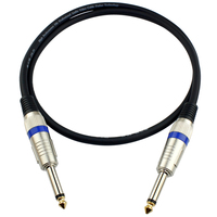 Electric Bass Guitar Effect Pedal Cable 6 35 Patch Connect Audio AMP String Length 500cm Mono