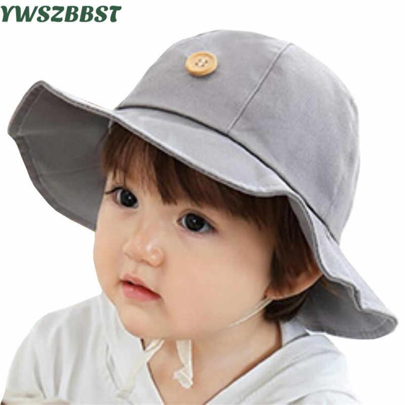8597a418888 Fashion Baby Hats for Boys Girls Sun Hat Toddler Infant Summer Hat for Kids  Beach Cap