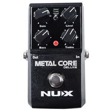 NUX Upgraded Metal Core Deluxe Distortion Guitar effects Pedal classic metal and modern extreme heavy metal guitarra pedal цена и фото