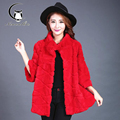 Short fur coat Toupeng stereo clipping lady installed a fur coat
