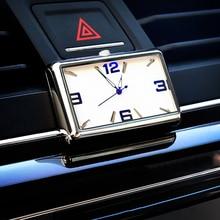 Auto Quartz Watch Automobiles Interior Stick On Clock High Grade Auto Vehicle Dashboard Time Display Clock