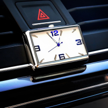 Auto Quartz Watch Automobiles Interior Stick-On Clock High Grade Auto Vehicle Dashboard Time Display Clock In Car Accessories