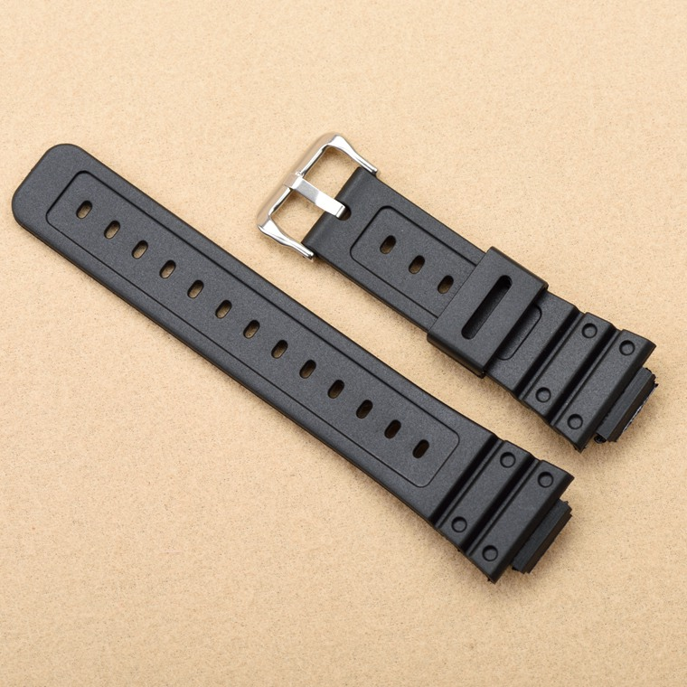 Silicone watchband for casio G-shock GW-M5610 <font><b>DW</b></font>-6900 GW-M5600 <font><b>DW</b></font>-<font><b>5600</b></font> G5700 Rubber <font><b>Strap</b></font> covex interface 16mm pu Watch band image