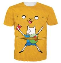 new style journey time t-shirt males/girls cute t shirt print 3d cartoon shirts Unisex graphic t shirt 3d tee shirt R2422