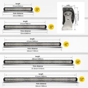 Image 2 - CO LIGHT Bar droit 42 pouces 12D, lumière LED W, faisceau combiné à 3 rangées, pour tracteur, camion, UAZ 4x4 SUV, ATV, 780