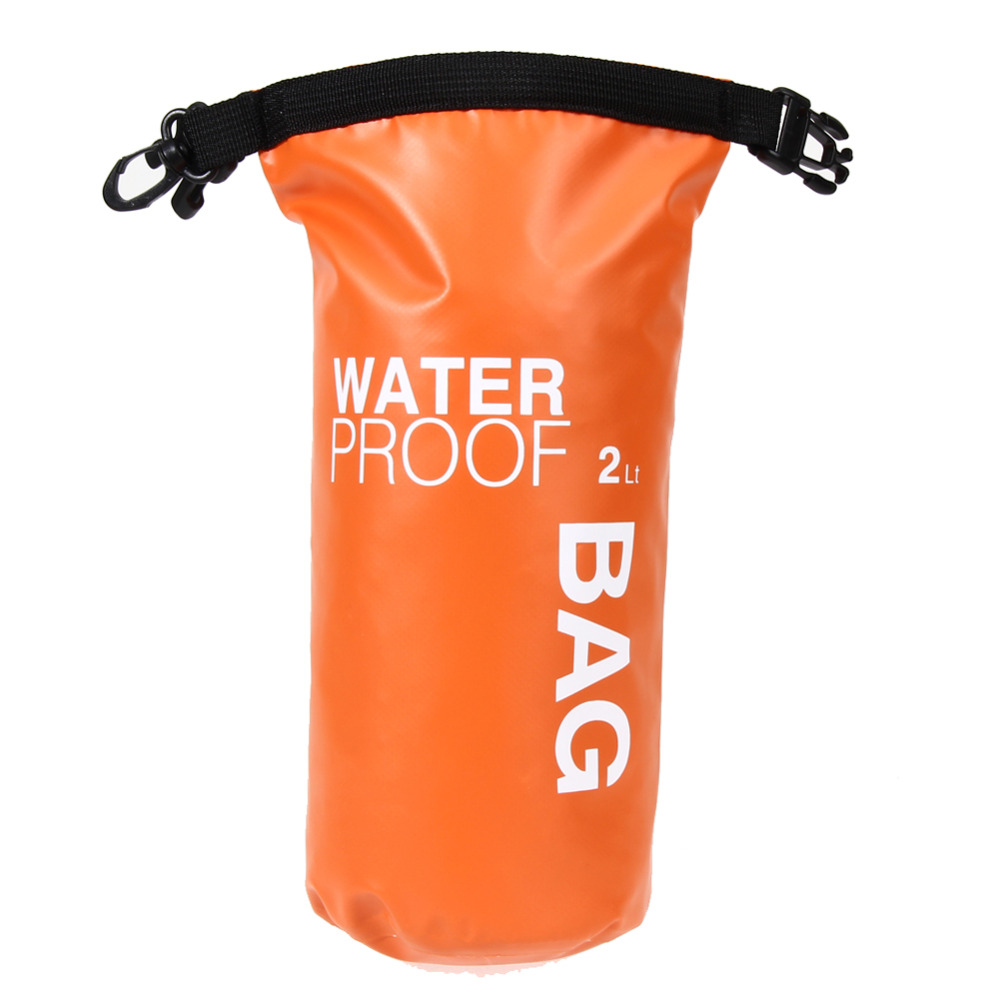Outdoor Waterproof Nylon Dry Bag Backpack for Swimming Camping Hiking 2L Large Capacity Backpacks
