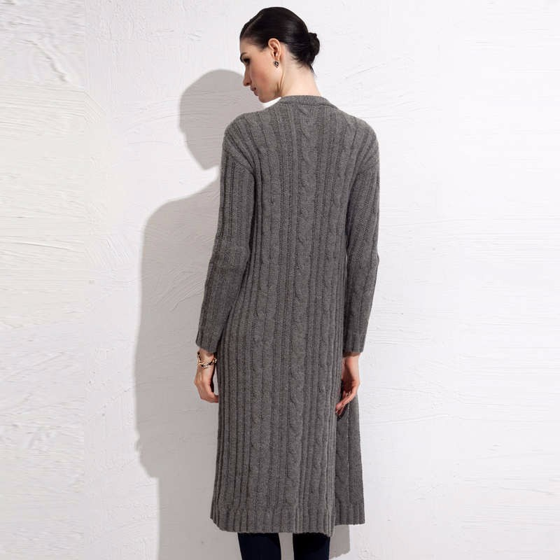 fall winter long cardigan sweater 5