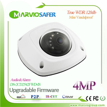 H.264 IP Mini Dome Network Camera DS-2CD2542FWD-IS CCTV Camaras Poe Build-in Microphone Upgradable Firmware
