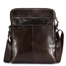 new men genuine leather military laptop computer cross body shoulder messenger tote handbag bag Genuine Leather Messenger Bag for Men Shoulder Cross Body Bag Men's Handbag Bag Business Briefcase Casual Large Male Travel Tote