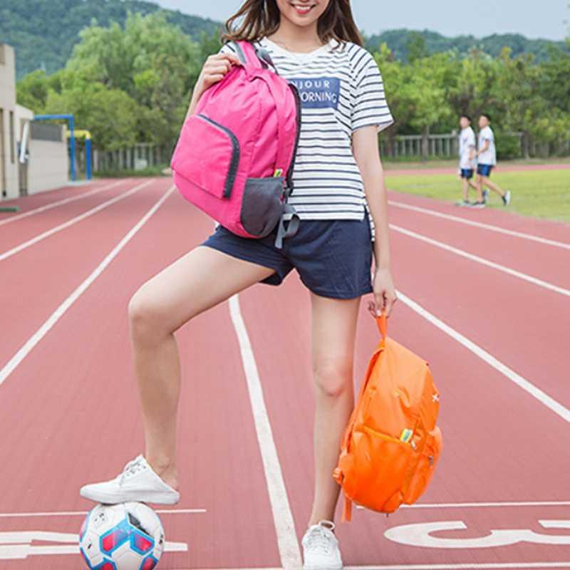 Moda Su Geçirmez Katlanabilir Sırt Çantaları Kadın Çevre Dostu Sırt Çantası kız çocuk okul çantası Okul Çantalarını Sırt Çantası