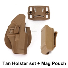 Tactical Glock Pistol Waist Belt Holster Hunting Shooting Gun Military Airsoft for GLOCK 17 19 22 23 31 32