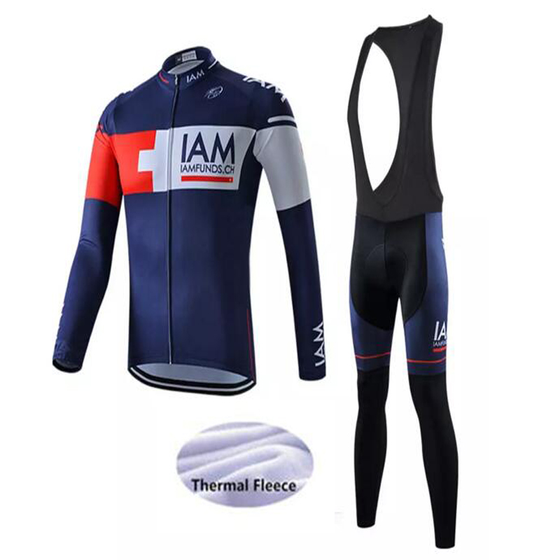 Cyclisme course Zip polaire vélo Sports de plein air vestes à manches longues chaud hiver hommes 2019 Jersey vêtements thermique cyclisme Jersey