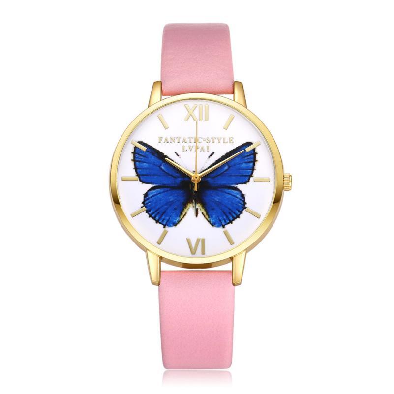 LVPAI Γυναίκες WristWatch Χρυσή μόδα - Γυναικεία ρολόγια - Φωτογραφία 5