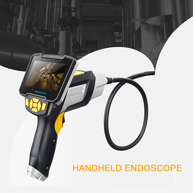 IM112 Handheld Endoscope 3M cable 4.3 Inch Display Screen Industrial Endoscope 1080P Inspection Camera for Auto Repair Tool IM112 Handheld Endoscope 3M cable 4.3 Inch Display Screen Industrial Endoscope 1080P Inspection Camera for Auto Repair Tool