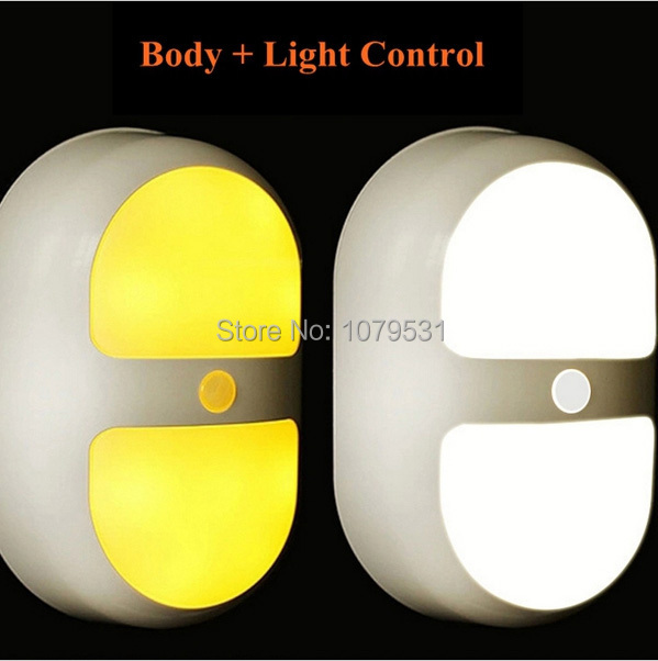 Stick-On LED Infrared Sensor Lamp Wall Light Body Motion Sensitive Night Light Ultra-bright Battery-operated Light-controlled wireless led wall stick anywhere energy saving human body sensor motion sensing night light lamp decoration door