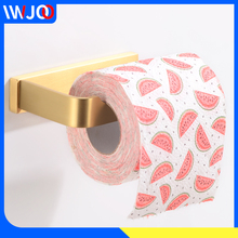 Toilet Paper Holder Creative Brass Bathroom Tissue Roll Paper Hanger Gold Decorative Paper Towel Holder Rack Wall Mounted недорого