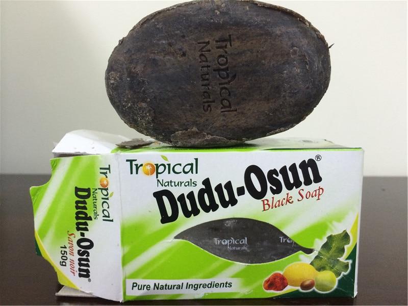 150g Tropical Brand Dudu-Osun African Natural Black Soap with Natural Ingredient Natural Black Soap