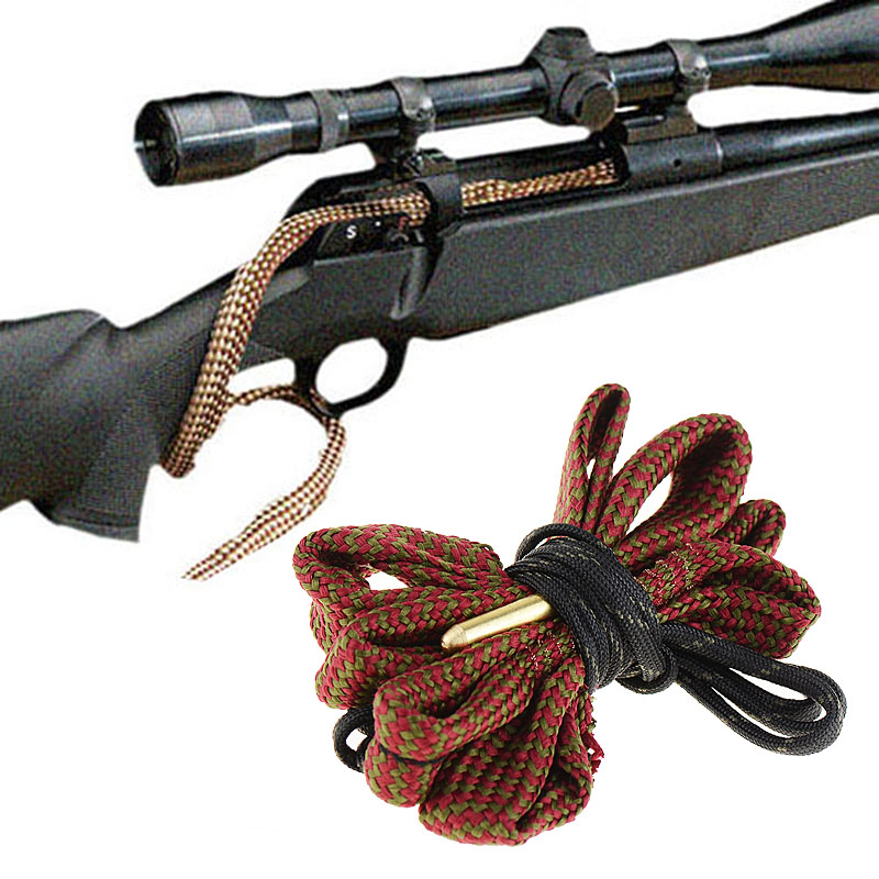 1x Bore Snake Rifle/Pistol/Shotgun Cleaning .243 Cal & 6mm G10 Cleaner Rope Gun Cleaning Kit Rifle Barrel Calibre Cleaner