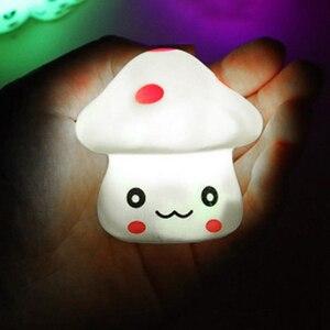 Image 3 - Muticolor lampka nocna zmiana koloru LED nowość oświetlenie dzieci prezenty pokój dziecięcy sypialnia dostarcza dekoracje do domu