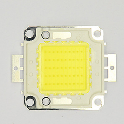 20pcs 50W LED Integrated High Power Lamp Beads White/Warm White 1500mA 32-34V 4500LM 24*48mil Taiwan Huga Chip Free Shipping