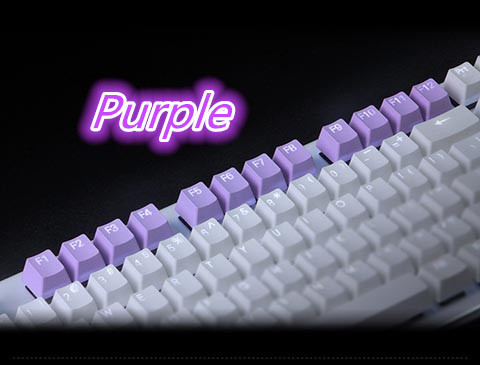 12 Keycap PBT, Smiling Angel R4 Highly F1 TO F12 Double Shot