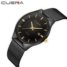 NEW Top Luxury Watch Men Brand Simple Men's Watches Ultra Thin Stainless Steel Mes Band Quartz Wristwatch Fashion casual watches