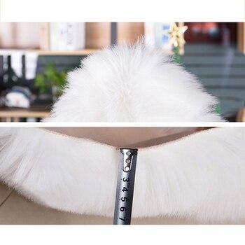 Weißer Schaffell Teppich | Haarigen Faux Schaffell Flauschigen Stuhl Sofa Abdeckung Unregelmäßigen Lange Nacht Teppich Matte Bereich Teppich Dekoration Weiß Grau Prop