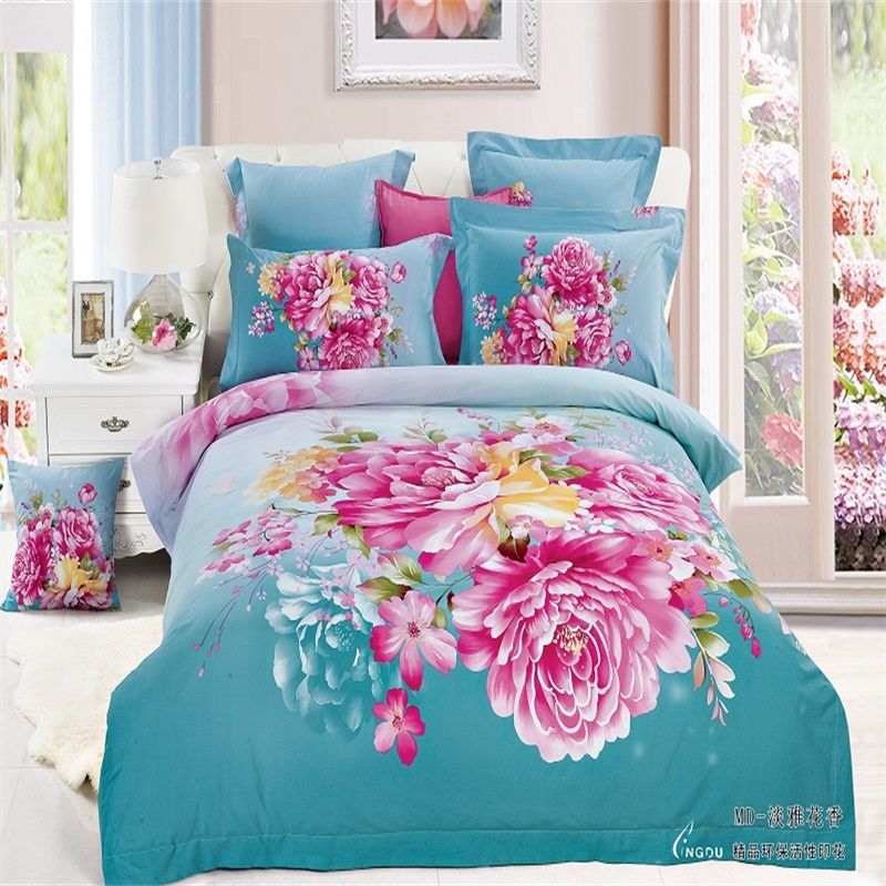 Blue Bedroom Sets For Girls online get cheap blue rose sheets -aliexpress | alibaba group