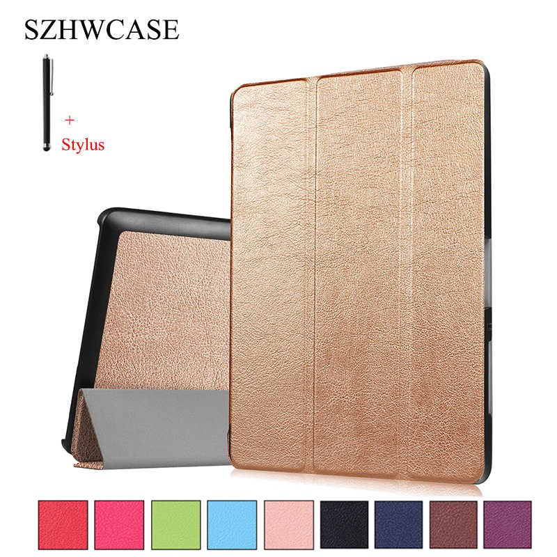 For Acer Iconia one 10 B3-A30 Case Cover for Acer Iconia Tab 10 A3-A40 10.1 inch Tablet Capa Fundas Leather Shell+Pen