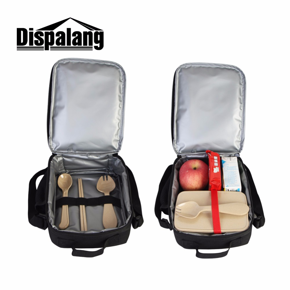 Dispalang Basketballs Shoulder pack Insulated convenient Lunch Bag Pattern Cool Lunch Container for Child boy women Lunch Cooler