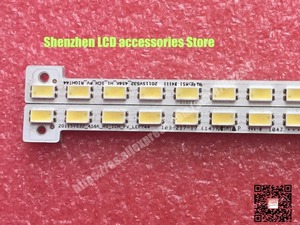 Image 2 - 2 adet/grup 347mm LED arka lamba şerit 44LED Samsung 32 inç TV 2011SVS32 456K H1 UA32D5000 LTJ320HN01 H BN64 01634A