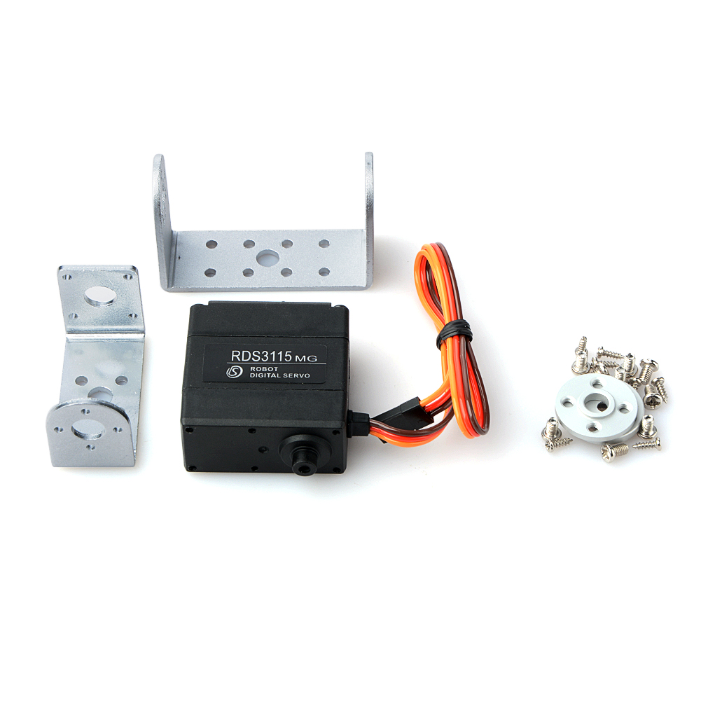 RDS3115mg Robot Servo Metal Gear Android Servo Motor Digital Servo For Robot DIY Excellent Servo