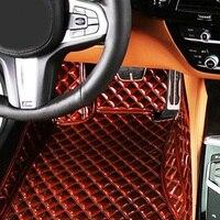 Коврики для Toyota Corolla 9th 10th 11th generaton 5D все погодные автомобильные аксессуары коврики с облицовочными вставками (2000 )