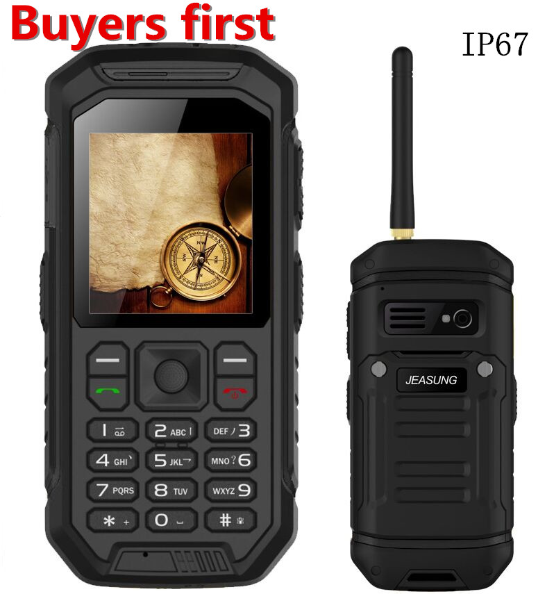Original X6 IP67 Waterproof Rugged Walkie Talkie PTT Mobile Phone Dual SIM FM Radio Dustproof shockproof MP3 2500mAh cellphoneOriginal X6 IP67 Waterproof Rugged Walkie Talkie PTT Mobile Phone Dual SIM FM Radio Dustproof shockproof MP3 2500mAh cellphone