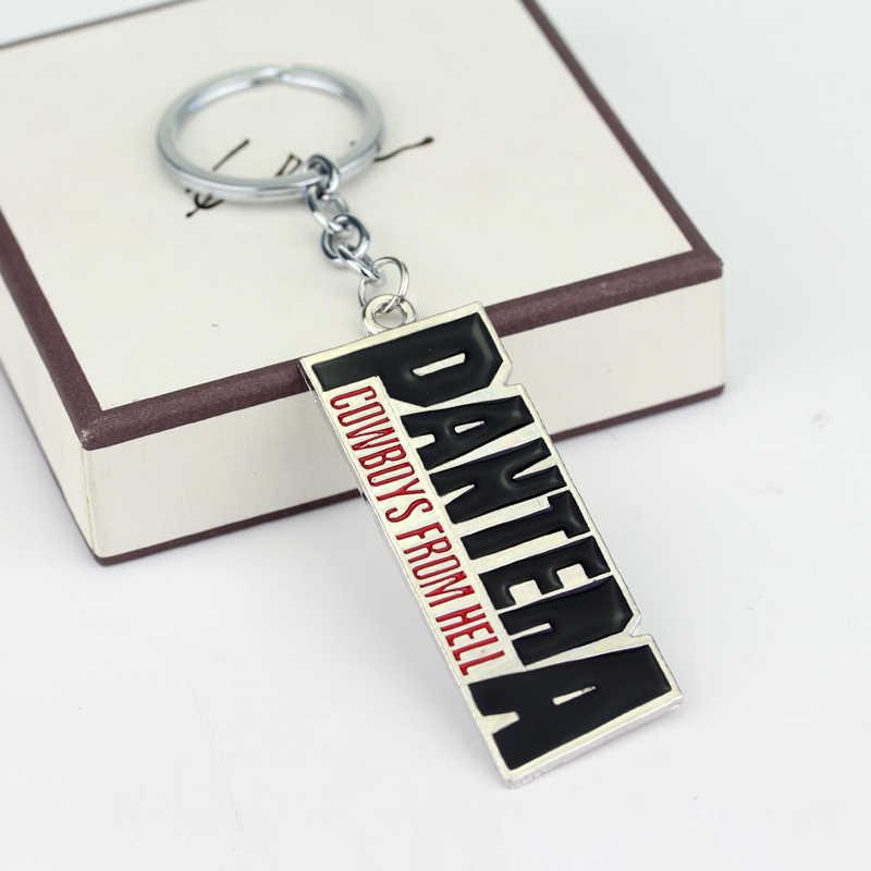 Pantera Cowboys From Hell Power Heavy Metal Rock Music Band Hanger Sleutelhanger From Hell Brief Kettingen Sieraden Gift Voor Man