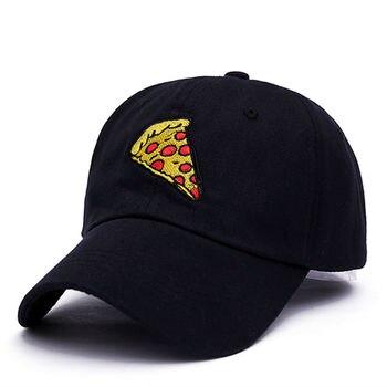 VORON new pizza embroidery dad cap Trucker cotton Hat For Women Men Adjustable Size Baseball Cap 1