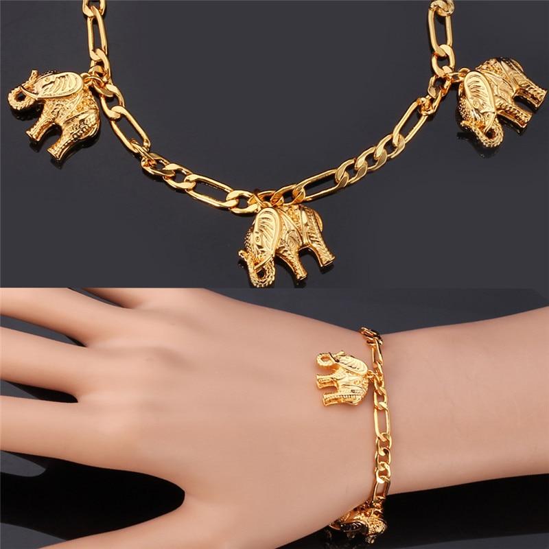 Starlord Elephant Bracelets For Women Men Jewelry Fashion Charms