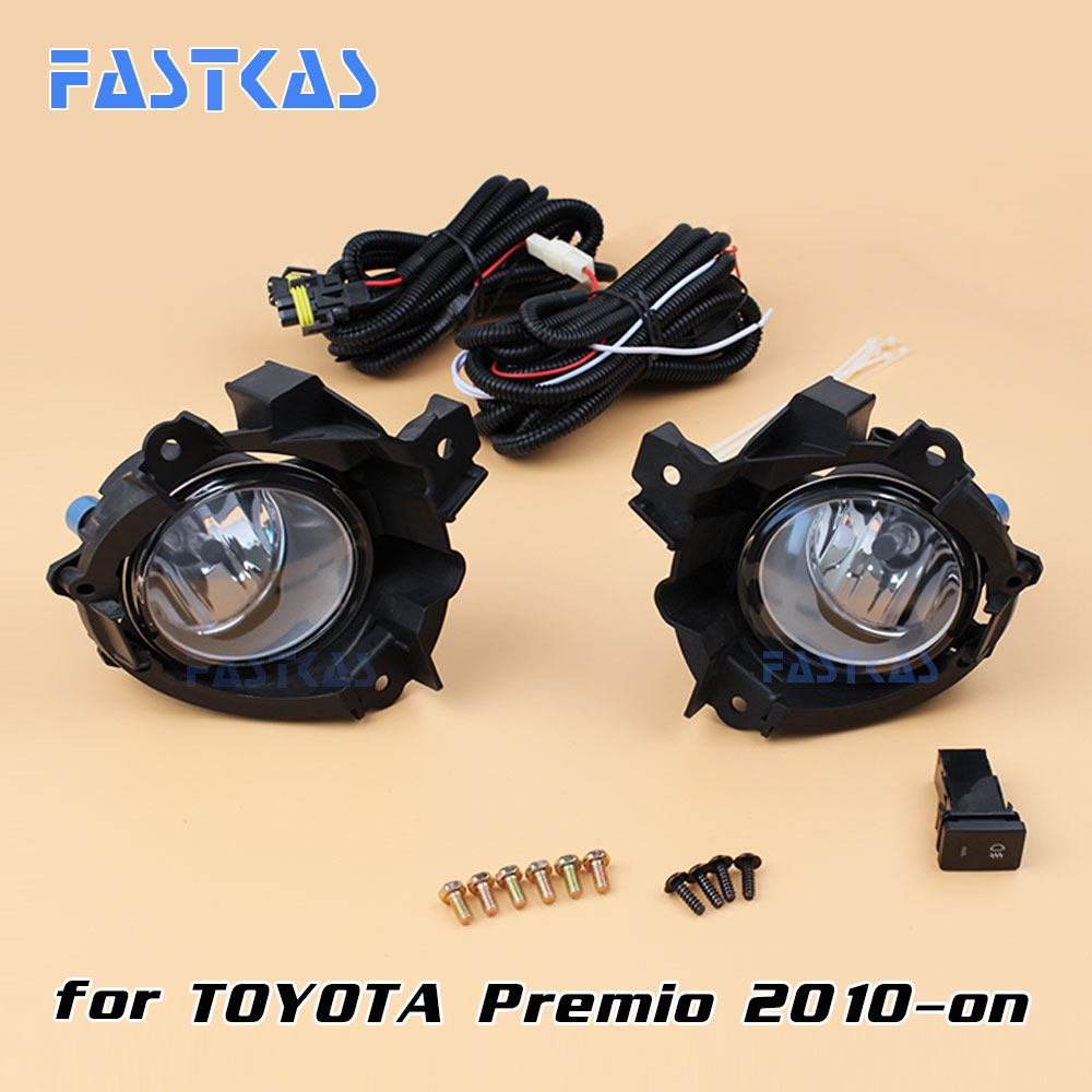 12v 55w Car Fog Light Assembly For Toyota Premio 2010 On