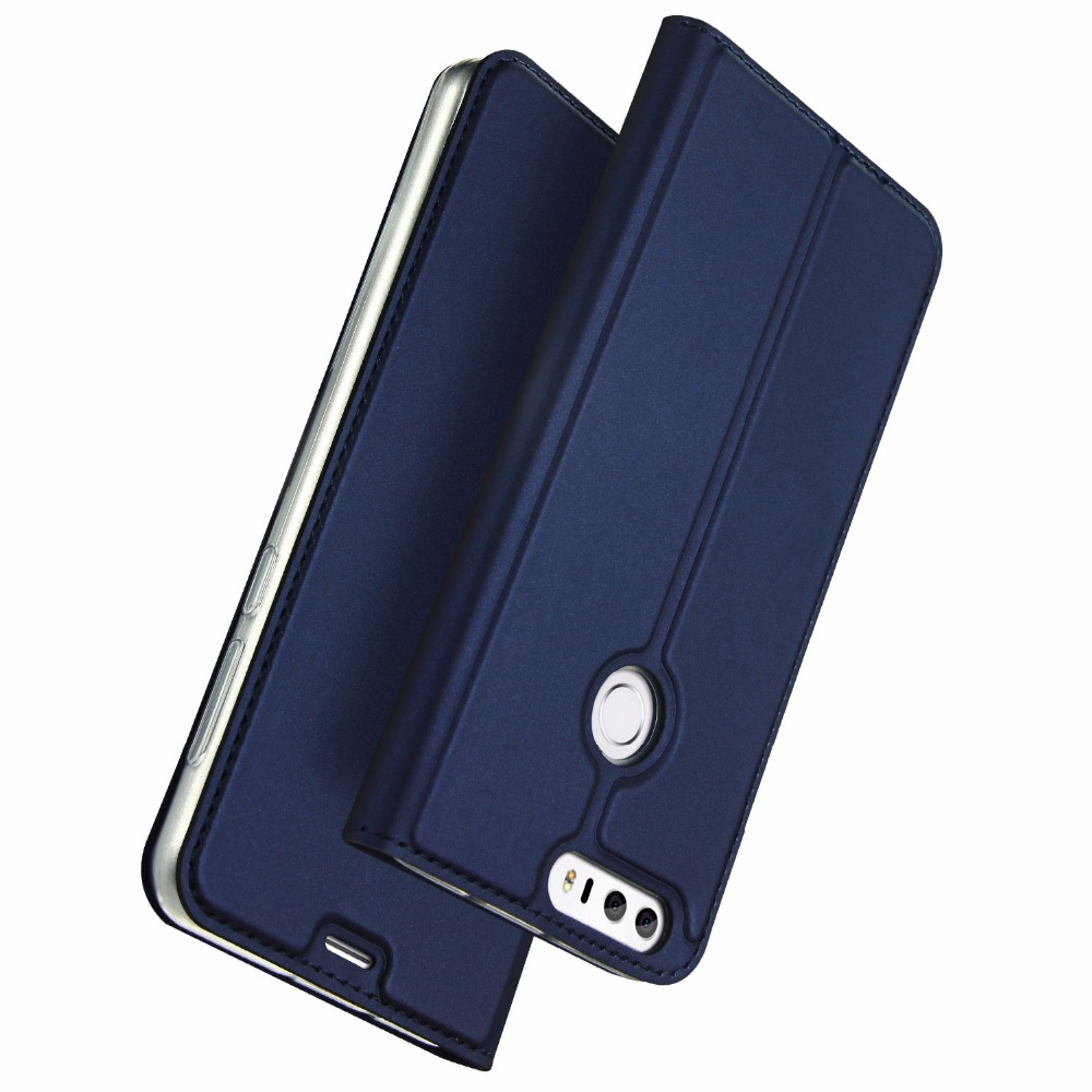 Huawei Honor 8 Case Leather Flip Kickstand Function Cover Luxury Couro Coque Honor8 Protector Phone Bag