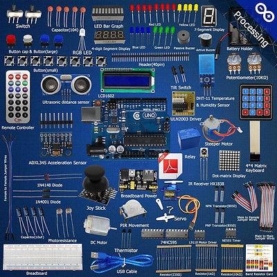 Ultimate Starter learning Kit R3 LCD1602 Servo Motor processing