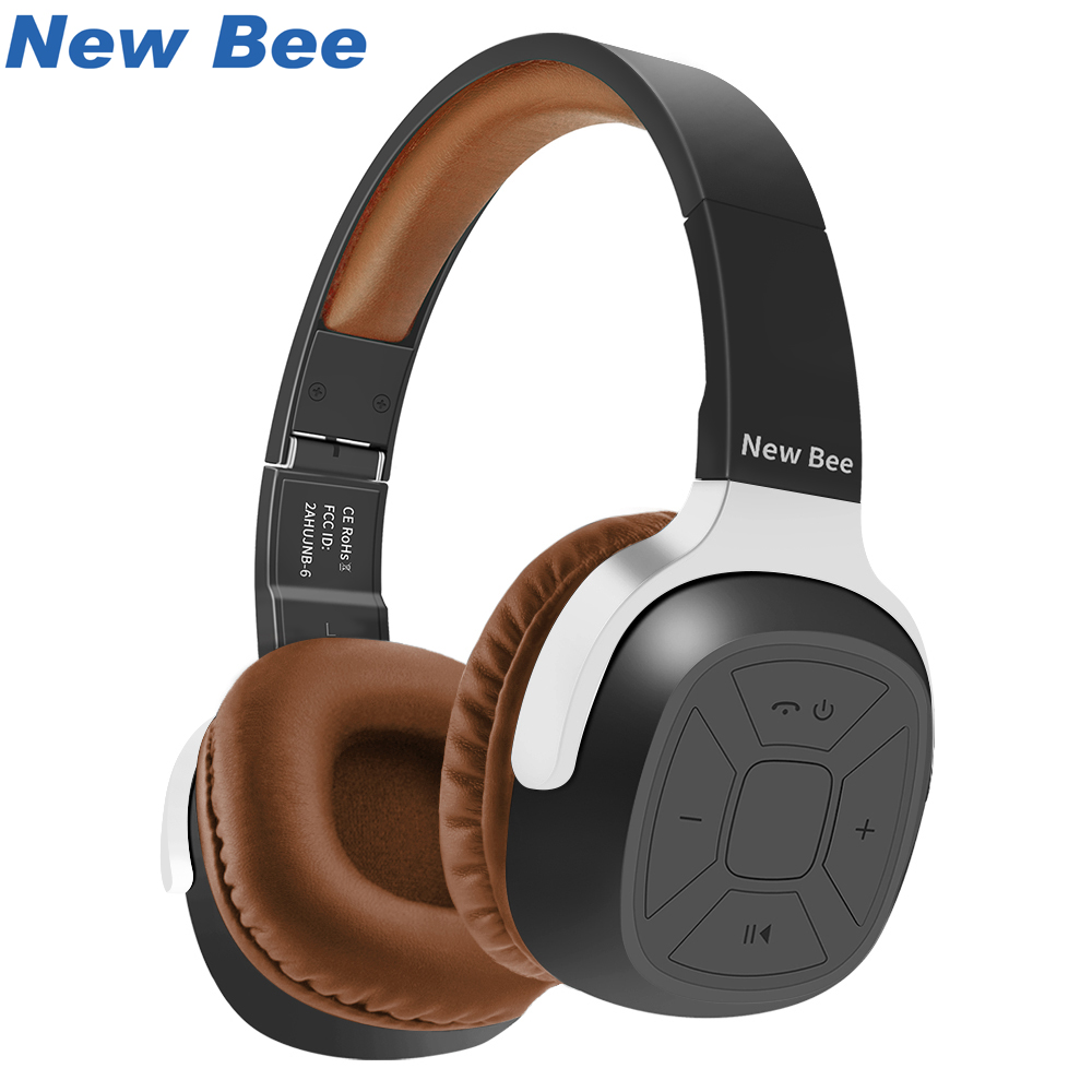 Aliexpress.com : Buy New Bee Wireless Bluetooth Headphones With Mic NFC Sport Bluetooth Headset