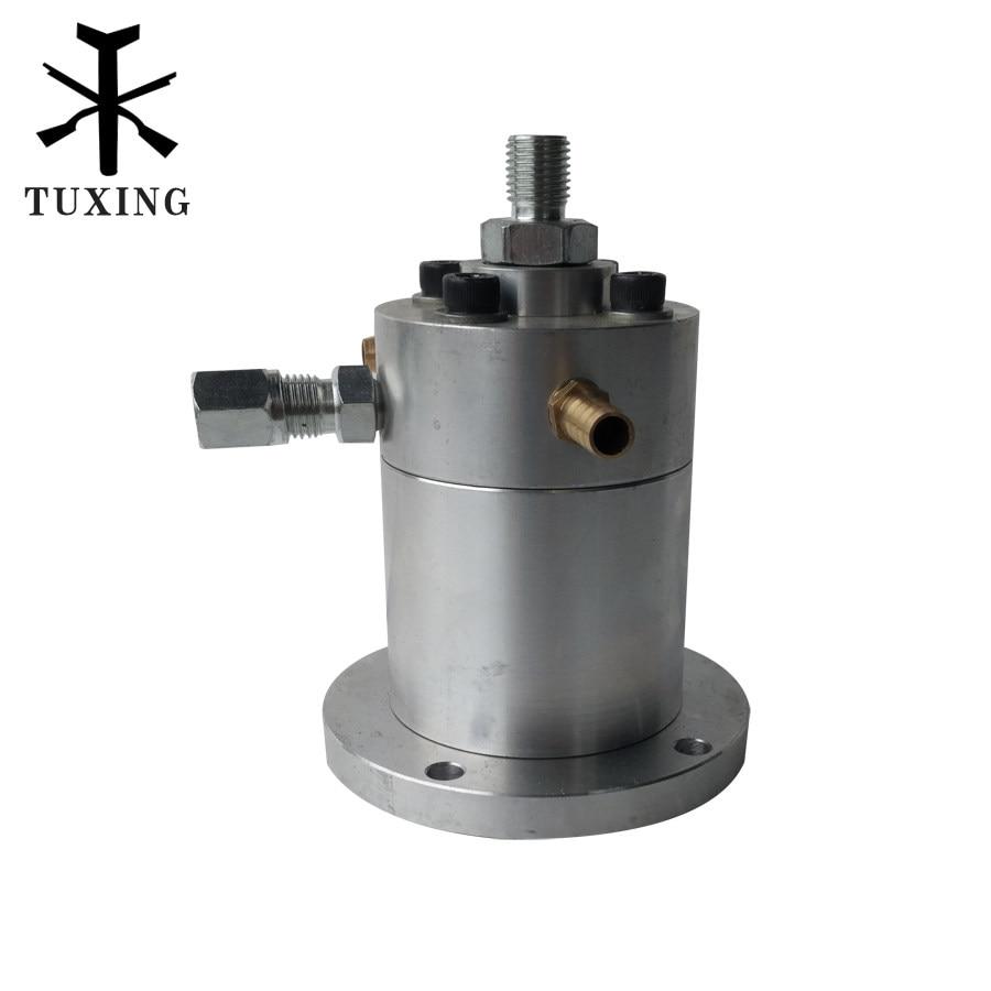 Double cylinder air compressor part high pressuare head compressor pcp 1 piece lot