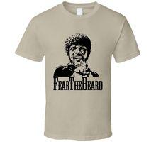 Fear The Beard Pulp Fiction Cult Movie T Shirt   Cool Casual pride t shirt men Unisex Fashion tshirt free shipping funny tops