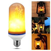 6W LED Flame Light Bulb E27 2835SMD Led Flame Effect Light Flame Effect Fire Light Bulbs