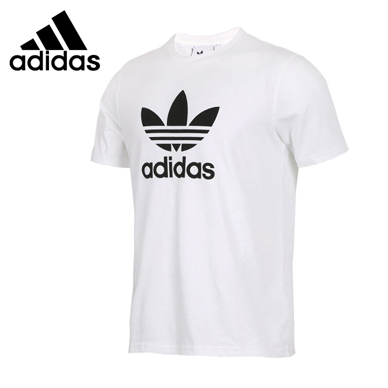 Original New Arrival 2018 Adidas Originals TREFOIL T-SHIRT Men's T-shirts short sleeve Sportswear цена