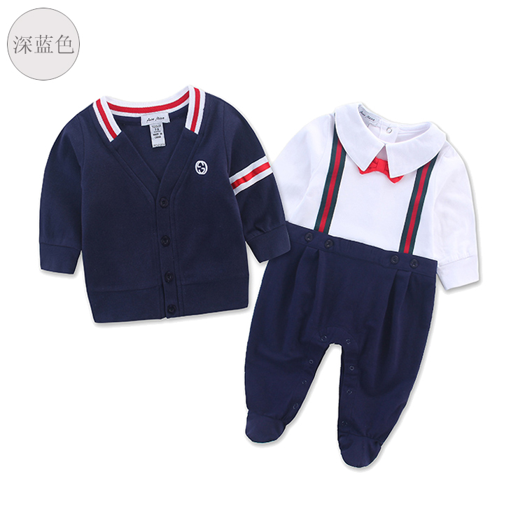 ФОТО 0-24 baby boy clothes clothing set romper+ coat newborn baby clothing set newborn baby clothes